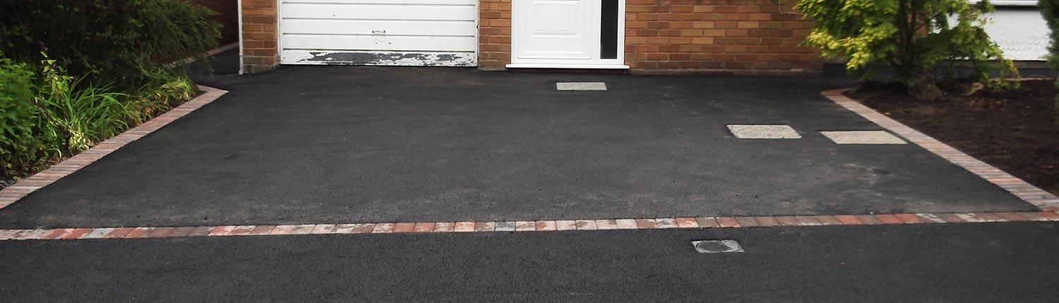Suddenstrike Cheshire   Groundwork Services   Tarmac housefront