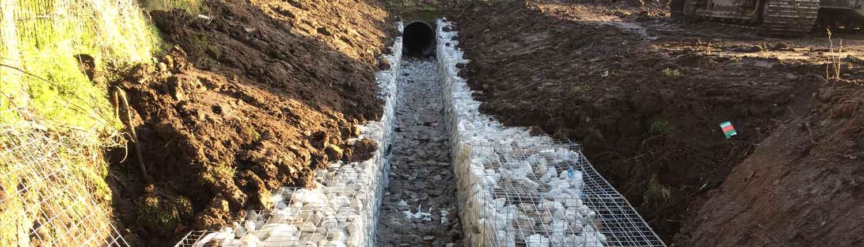 Suddenstrike Cheshire | Groundwork Services | Drainage culvert