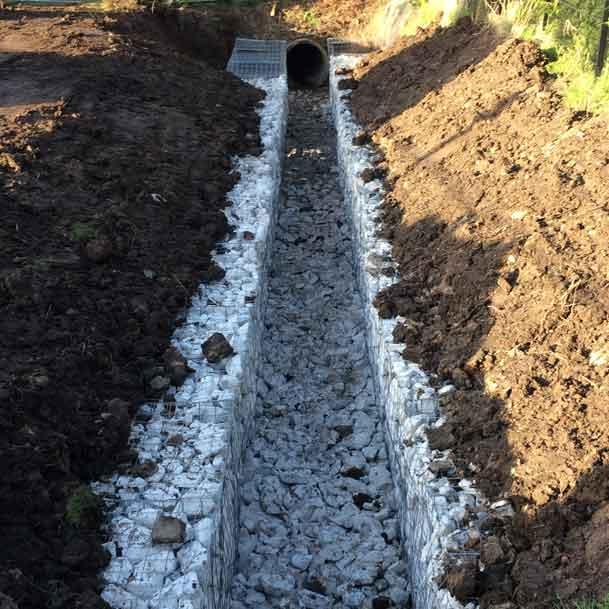 Suddenstrike Cheshire | Groundwork Services | New culvert
