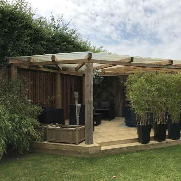 Suddenstrike Cheshire | Groundwork Services | Pegola & lawn