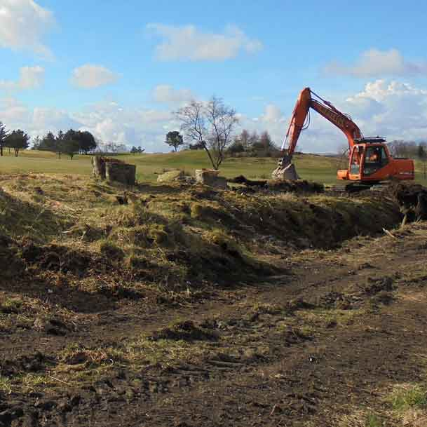 Suddenstrike Cheshire | Groundwork Services | Digger and ditch
